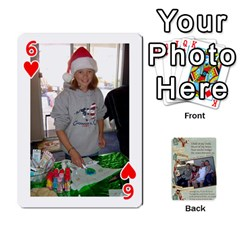 Grandkids Cards By Lynne Simmons   Playing Cards 54 Designs   0z6p7v8k15ku   Www Artscow Com Front - Heart6