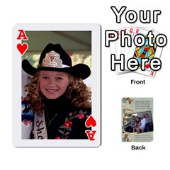 Ace Grandkids Cards By Lynne Simmons   Playing Cards 54 Designs   0z6p7v8k15ku   Www Artscow Com Front - HeartA