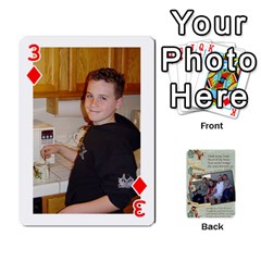 Grandkids Cards By Lynne Simmons   Playing Cards 54 Designs   0z6p7v8k15ku   Www Artscow Com Front - Diamond3