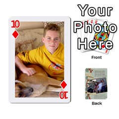 Grandkids Cards By Lynne Simmons   Playing Cards 54 Designs   0z6p7v8k15ku   Www Artscow Com Front - Diamond10
