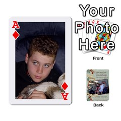 Ace Grandkids Cards By Lynne Simmons   Playing Cards 54 Designs   0z6p7v8k15ku   Www Artscow Com Front - DiamondA