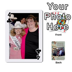Grandkids Cards By Lynne Simmons   Playing Cards 54 Designs   0z6p7v8k15ku   Www Artscow Com Front - Club4