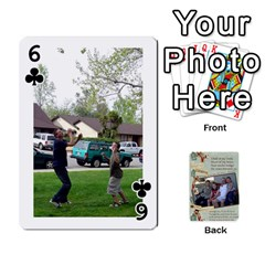 Grandkids Cards By Lynne Simmons   Playing Cards 54 Designs   0z6p7v8k15ku   Www Artscow Com Front - Club6