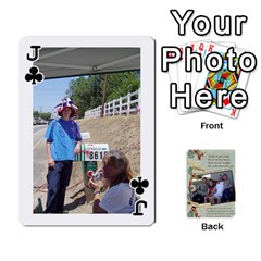 Jack Grandkids Cards By Lynne Simmons   Playing Cards 54 Designs   0z6p7v8k15ku   Www Artscow Com Front - ClubJ