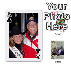 Ace Grandkids Cards By Lynne Simmons   Playing Cards 54 Designs   0z6p7v8k15ku   Www Artscow Com Front - ClubA