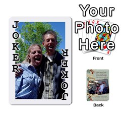Grandkids Cards By Lynne Simmons   Playing Cards 54 Designs   0z6p7v8k15ku   Www Artscow Com Front - Joker1