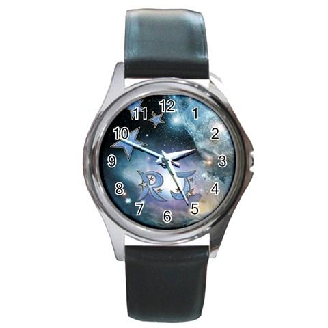 Rj By Amarilloyankee   Round Metal Watch   Kxigid6z3vc4   Www Artscow Com Front