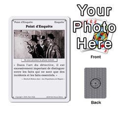 2010 Grands Detectives Paquet 2 By Steve Sisk   Playing Cards 54 Designs   0ru2tezajeyu   Www Artscow Com Front - Spade8