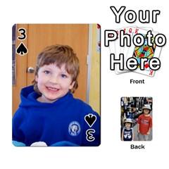 Deckofcards By Tegan Craig   Playing Cards 54 Designs   Bd6u7aiyyf5c   Www Artscow Com Front - Spade3