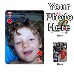 Deckofcards By Tegan Craig   Playing Cards 54 Designs   Bd6u7aiyyf5c   Www Artscow Com Front - Heart7
