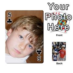 Deckofcards By Tegan Craig   Playing Cards 54 Designs   Bd6u7aiyyf5c   Www Artscow Com Front - Club5