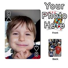 Deckofcards By Tegan Craig   Playing Cards 54 Designs   Bd6u7aiyyf5c   Www Artscow Com Front - Spade8