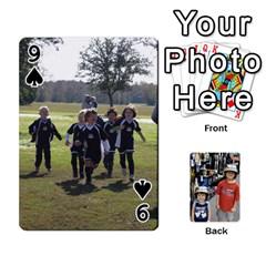 Deckofcards By Tegan Craig   Playing Cards 54 Designs   Bd6u7aiyyf5c   Www Artscow Com Front - Spade9