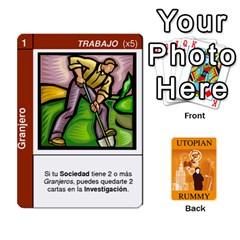 King Utopial Rummy Esp By Juanjosé Martínez Gil   Playing Cards 54 Designs   Jjb52udk1giy   Www Artscow Com Front - SpadeK