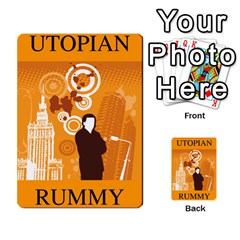 Utopial Rummy Esp By Juanjosé Martínez Gil   Playing Cards 54 Designs   Jjb52udk1giy   Www Artscow Com Back