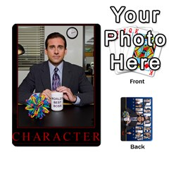 Ace The Office Collectable Cards By Mark C Petzold   Playing Cards 54 Designs   Xe4oywp13cae   Www Artscow Com Front - ClubA