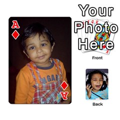 Ace Lakshya Cards1 By Anshu   Playing Cards 54 Designs   R0d0pzn9w57z   Www Artscow Com Front - DiamondA