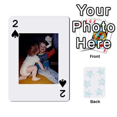 54  Photo Cards By Bonnie Peloquin   Playing Cards 54 Designs   2bz6u5o62qyq   Www Artscow Com Front - Spade2