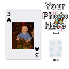 54  Photo Cards By Bonnie Peloquin   Playing Cards 54 Designs   2bz6u5o62qyq   Www Artscow Com Front - Spade3