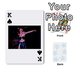 King 54  Photo Cards By Bonnie Peloquin   Playing Cards 54 Designs   2bz6u5o62qyq   Www Artscow Com Front - SpadeK