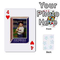 54  Photo Cards By Bonnie Peloquin   Playing Cards 54 Designs   2bz6u5o62qyq   Www Artscow Com Front - Heart4
