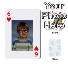 54  Photo Cards By Bonnie Peloquin   Playing Cards 54 Designs   2bz6u5o62qyq   Www Artscow Com Front - Heart6