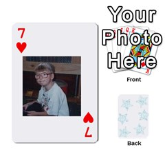54  Photo Cards By Bonnie Peloquin   Playing Cards 54 Designs   2bz6u5o62qyq   Www Artscow Com Front - Heart7