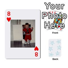 54  Photo Cards By Bonnie Peloquin   Playing Cards 54 Designs   2bz6u5o62qyq   Www Artscow Com Front - Heart8