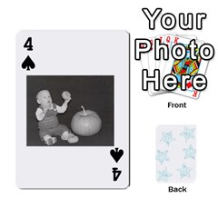 54  Photo Cards By Bonnie Peloquin   Playing Cards 54 Designs   2bz6u5o62qyq   Www Artscow Com Front - Spade4