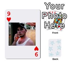 54  Photo Cards By Bonnie Peloquin   Playing Cards 54 Designs   2bz6u5o62qyq   Www Artscow Com Front - Heart9