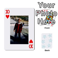 54  Photo Cards By Bonnie Peloquin   Playing Cards 54 Designs   2bz6u5o62qyq   Www Artscow Com Front - Heart10