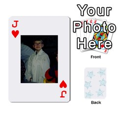 Jack 54  Photo Cards By Bonnie Peloquin   Playing Cards 54 Designs   2bz6u5o62qyq   Www Artscow Com Front - HeartJ