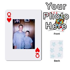 Queen 54  Photo Cards By Bonnie Peloquin   Playing Cards 54 Designs   2bz6u5o62qyq   Www Artscow Com Front - HeartQ