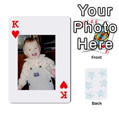 King 54  Photo Cards By Bonnie Peloquin   Playing Cards 54 Designs   2bz6u5o62qyq   Www Artscow Com Front - HeartK