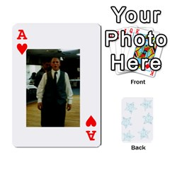 Ace 54  Photo Cards By Bonnie Peloquin   Playing Cards 54 Designs   2bz6u5o62qyq   Www Artscow Com Front - HeartA
