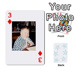 54  Photo Cards By Bonnie Peloquin   Playing Cards 54 Designs   2bz6u5o62qyq   Www Artscow Com Front - Diamond3
