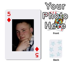54  Photo Cards By Bonnie Peloquin   Playing Cards 54 Designs   2bz6u5o62qyq   Www Artscow Com Front - Diamond5