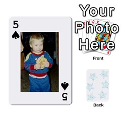 54  Photo Cards By Bonnie Peloquin   Playing Cards 54 Designs   2bz6u5o62qyq   Www Artscow Com Front - Spade5