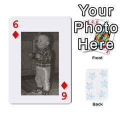 54  Photo Cards By Bonnie Peloquin   Playing Cards 54 Designs   2bz6u5o62qyq   Www Artscow Com Front - Diamond6