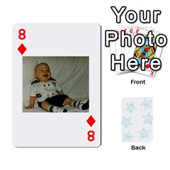 54  Photo Cards By Bonnie Peloquin   Playing Cards 54 Designs   2bz6u5o62qyq   Www Artscow Com Front - Diamond8