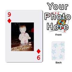 54  Photo Cards By Bonnie Peloquin   Playing Cards 54 Designs   2bz6u5o62qyq   Www Artscow Com Front - Diamond9