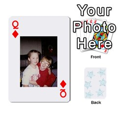 Queen 54  Photo Cards By Bonnie Peloquin   Playing Cards 54 Designs   2bz6u5o62qyq   Www Artscow Com Front - DiamondQ