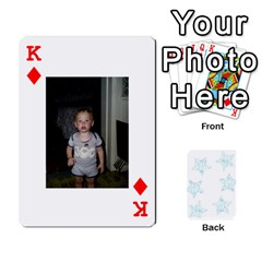 King 54  Photo Cards By Bonnie Peloquin   Playing Cards 54 Designs   2bz6u5o62qyq   Www Artscow Com Front - DiamondK