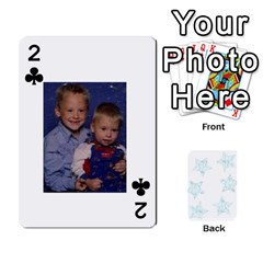 54  Photo Cards By Bonnie Peloquin   Playing Cards 54 Designs   2bz6u5o62qyq   Www Artscow Com Front - Club2