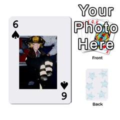 54  Photo Cards By Bonnie Peloquin   Playing Cards 54 Designs   2bz6u5o62qyq   Www Artscow Com Front - Spade6