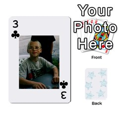 54  Photo Cards By Bonnie Peloquin   Playing Cards 54 Designs   2bz6u5o62qyq   Www Artscow Com Front - Club3
