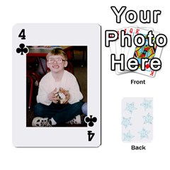 54  Photo Cards By Bonnie Peloquin   Playing Cards 54 Designs   2bz6u5o62qyq   Www Artscow Com Front - Club4