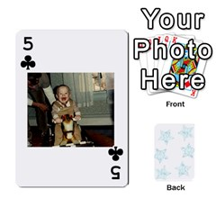 54  Photo Cards By Bonnie Peloquin   Playing Cards 54 Designs   2bz6u5o62qyq   Www Artscow Com Front - Club5