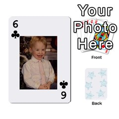 54  Photo Cards By Bonnie Peloquin   Playing Cards 54 Designs   2bz6u5o62qyq   Www Artscow Com Front - Club6
