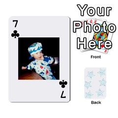 54  Photo Cards By Bonnie Peloquin   Playing Cards 54 Designs   2bz6u5o62qyq   Www Artscow Com Front - Club7